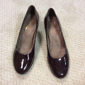Aerosoles dark brown 2.5 inch heels